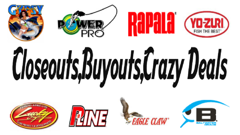 Shipping for Wholesale fishing tackle outlet